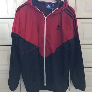 Adidas Zip-up Windbreaker